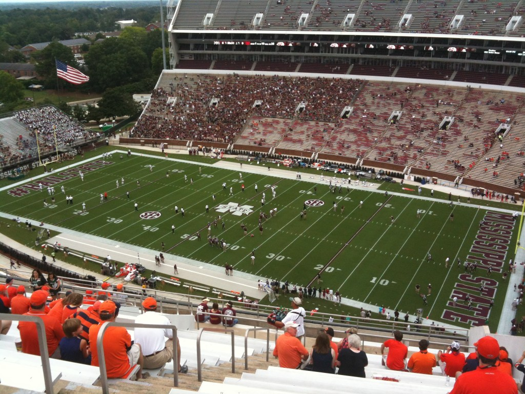 Ash Tales:  From the nosebleeds of Starkville