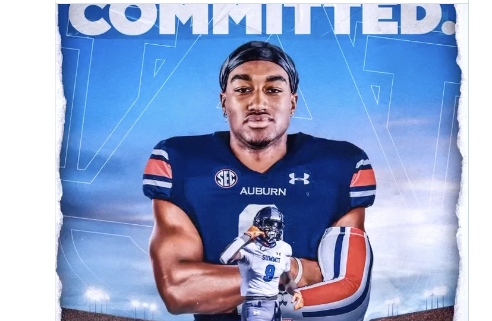 2021 3* WR Hal Preseley Commits to AU!