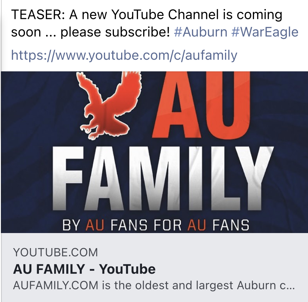 2020 Support AUFAMILY Campaign Update III